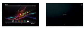 「Xperia Tablet Z」