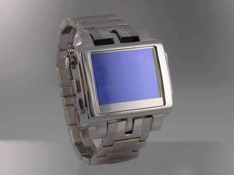 MP4 Watch Metal