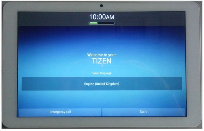 Tizen OSタブレット
