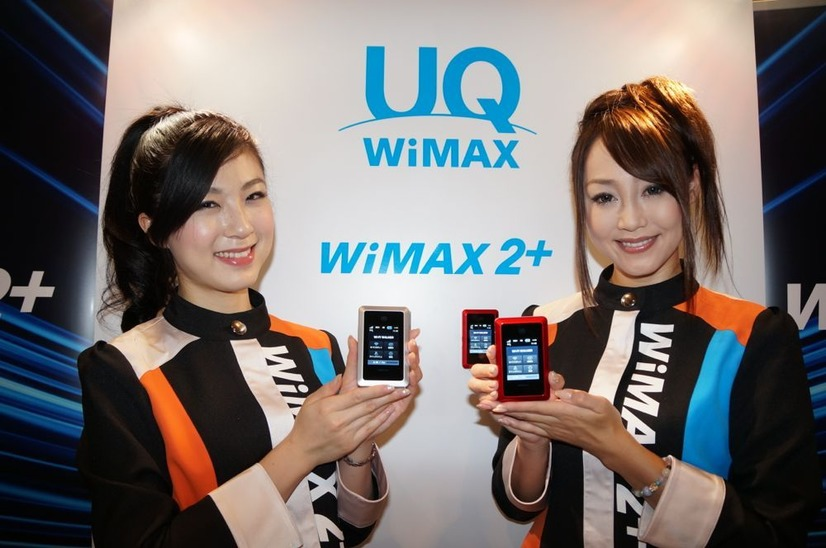 WiMAX 2+ 対応端末も発表された