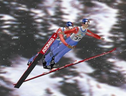 スキー ジャンプ ペア
