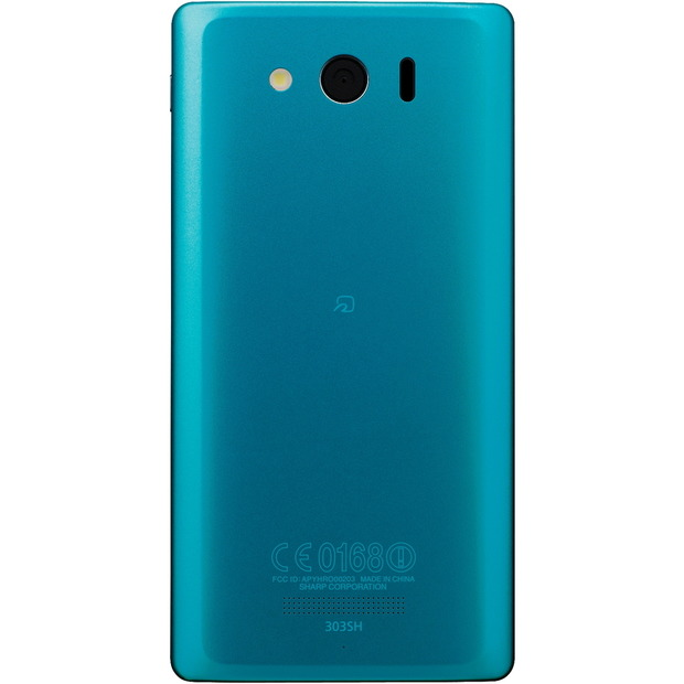 4.5型「AQUOS PHONE Xx mini 303SH」