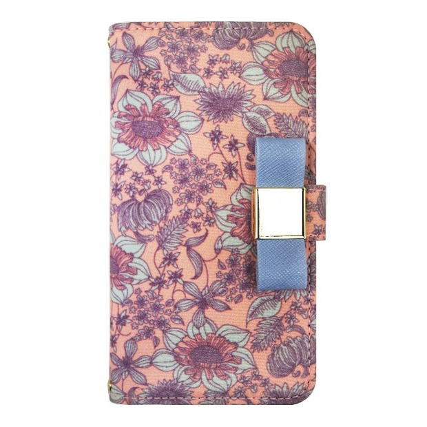 La Boutique フラワー iPhoneケース for iPhone5s/5(PK)