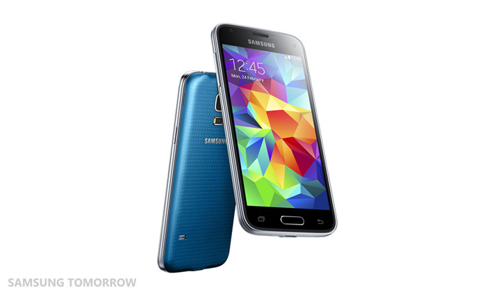 「GALAXY S5 mini」Electric Blue