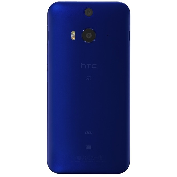 「HTC J butterfly HTL23」インディゴモデル背面