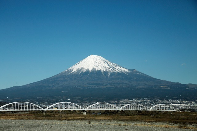 富士山 (C) Getty Images
