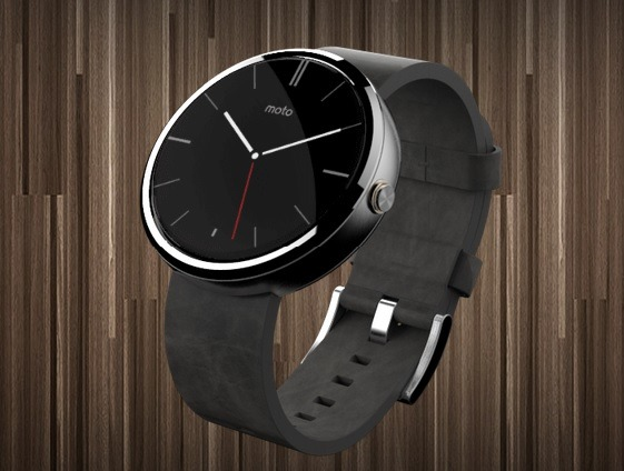 Android Wear搭載「Moto 360」