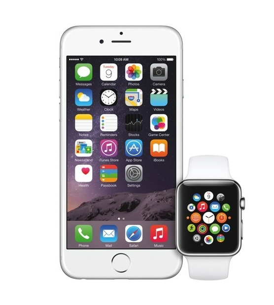 iPhone 6とApple Watch