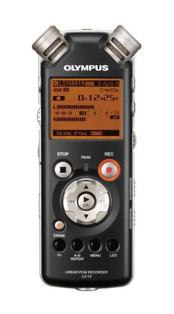 Linear PCM Recorder LS-10