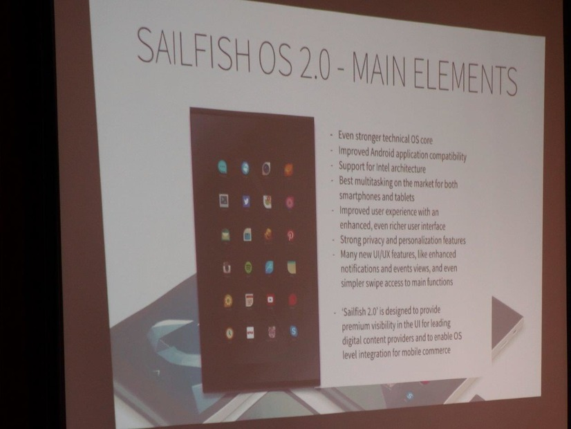 Sailfish OS 2.0の特徴