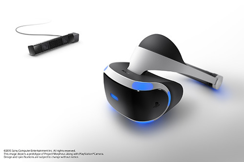 PlayStation 4用VRヘッドセット「Project Morpheus」