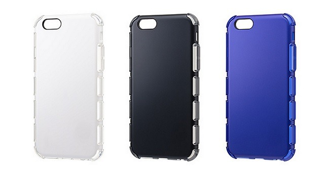iPhone 6/iPhone 6 Plus向け耐衝撃ケース「EQUAL Air Shock」