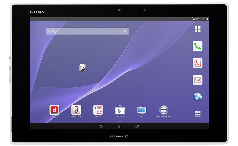 Android 5.1にバージョンアップされる10型「Xperia Z2 Tablet」