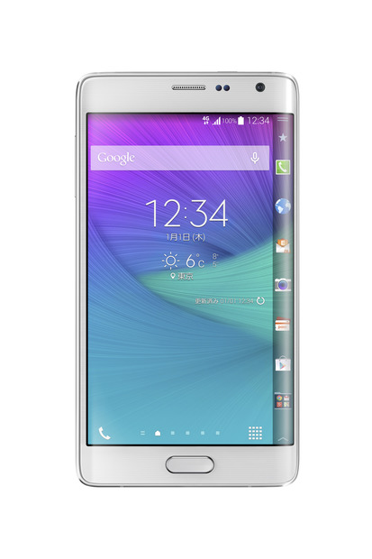「GALAXY Note Edge SCL24」がAndroid 5.0へ