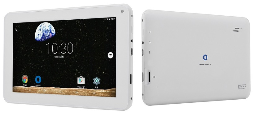 Android 5.1搭載で実売8000円の7型タブレット「BNT-71」