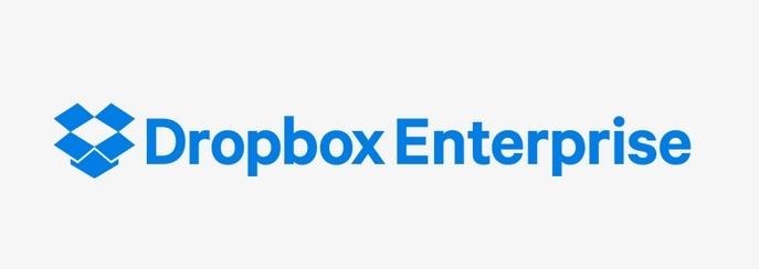 「Dropbox Enterprise」ロゴ
