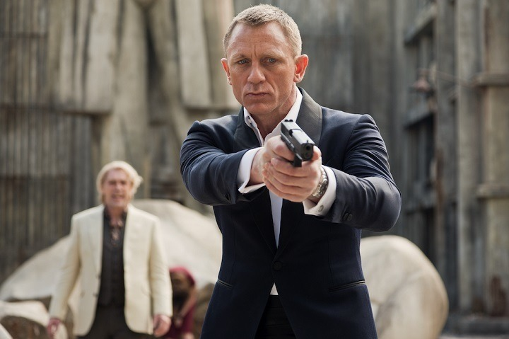 「007 スカイフォール」Skyfall (c) 2015 MGM, Danjaq. Skyfall, 007 Gun Logo and related James Bond Trademarks, TM Danjaq.