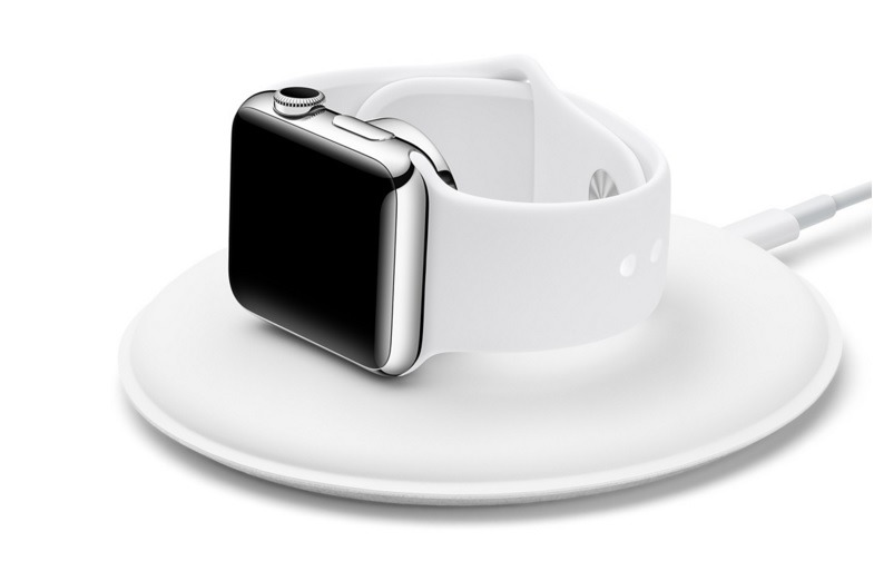 「Apple Watch」用純正充電ドック「Apple Watch Magnetic Charging Dock」