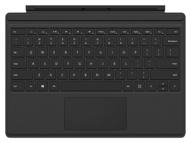 「Surface Pro 4」用の英語配列Type Cover。Surface Pro 3でも利用できる