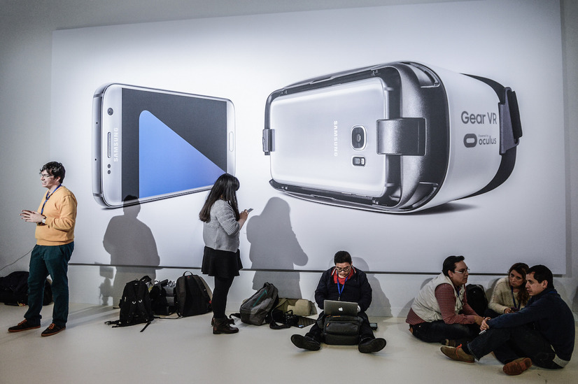 「Galaxy S7/S7 edge」を発表 (C)Gettyimages