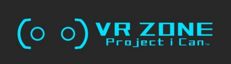 「VR ZONE Project i Can」ロゴ