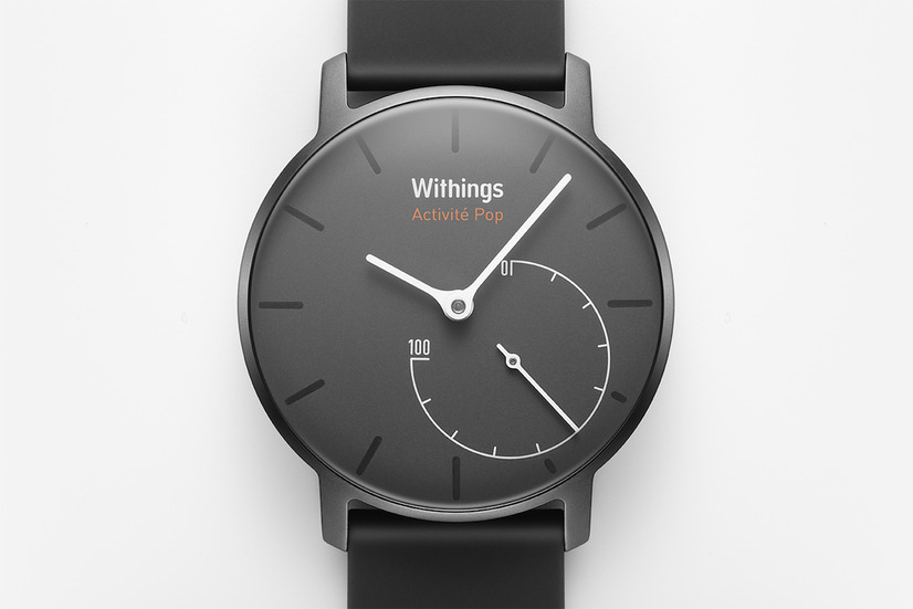 「Withings Activite Pop」(Shark Grey)