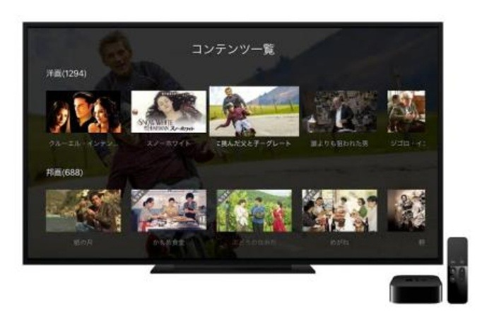 dTVが「Apple TV」に対応