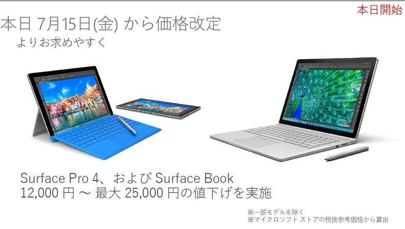 Surface値下げ!