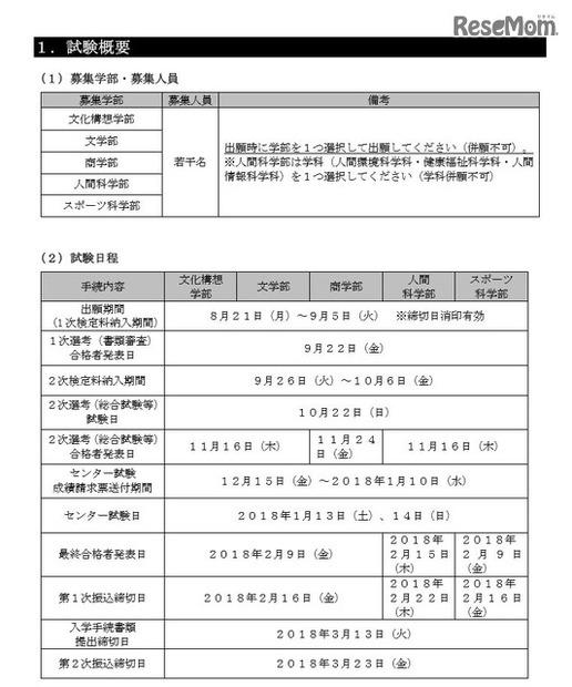 早稲田大学で「新思考入試(地域...