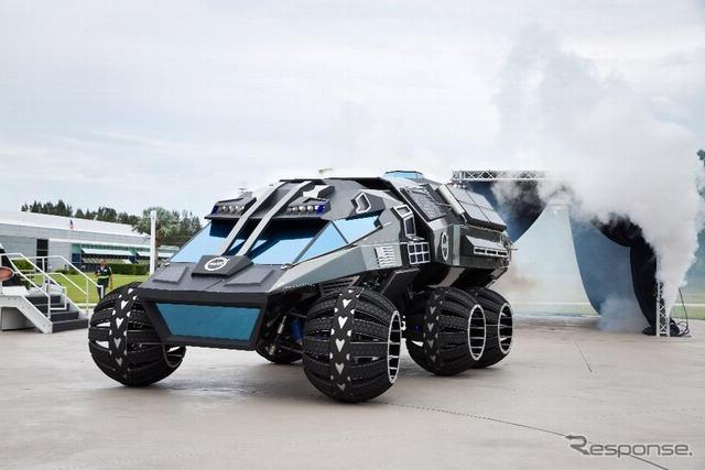 NASA、火星探査車のコンセプトモ...