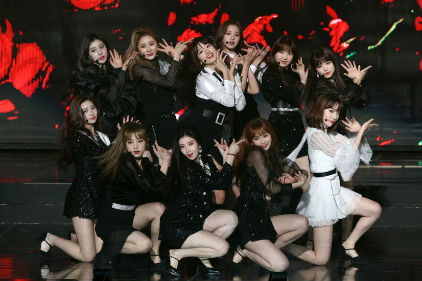 IZ*ONE(c)Getty Images