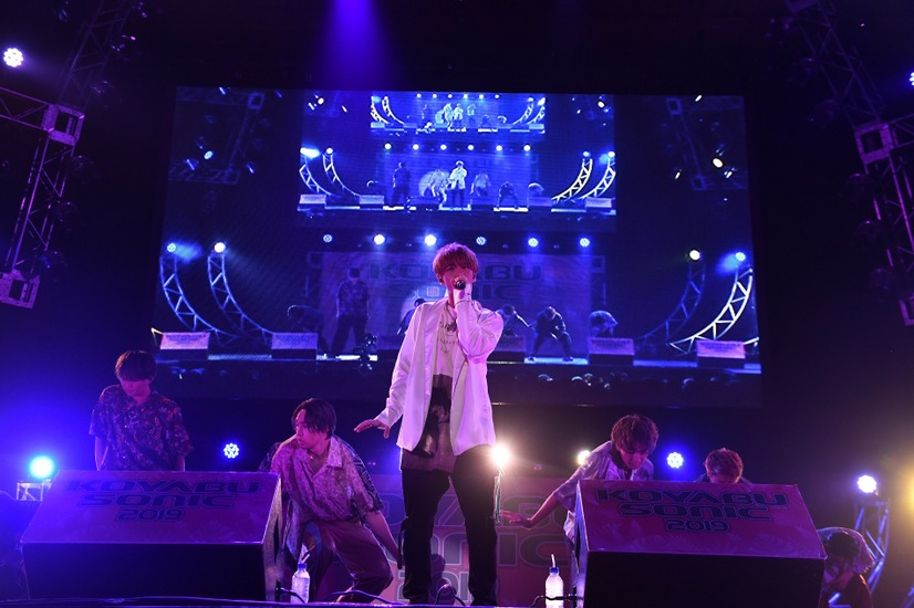 「KOYABU SONIC 2019」・FANTASTICS from EXILE TRIBE
