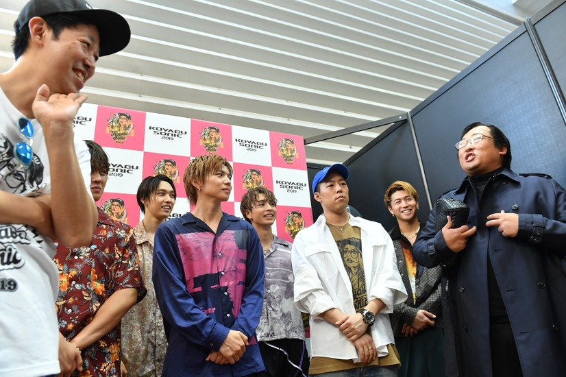 「KOYABU SONIC 2019」・FANTASTICS from EXILE TRIBE、小籔千豊、ロバート秋山