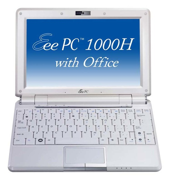 Eee PC 1000H-X with Office
