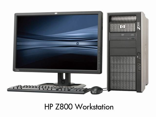 「HP Z800 Workstation」