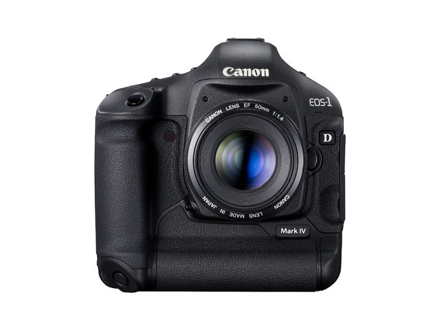 EOS-1D Mark IV(正面)