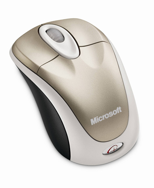 「Wireless Notebook Optical Mouse 3000」(シャンパン ゴールド)