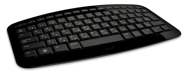 「Microsoft Arc Keyboard」(ブラック)
