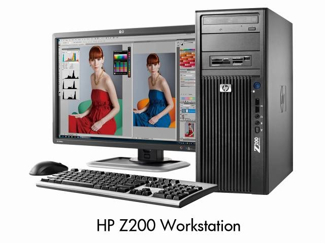 HP Z200 Workstation外観