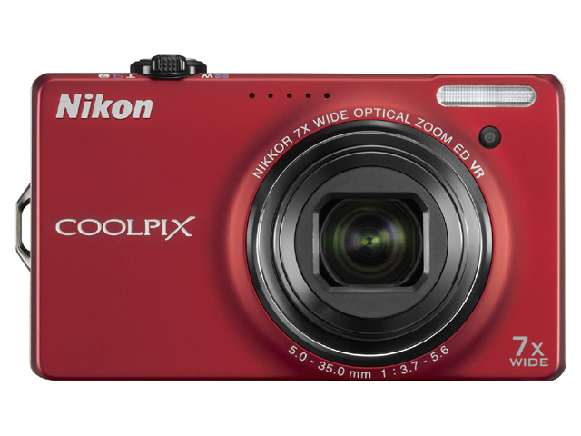 COOLPIX S6000正面