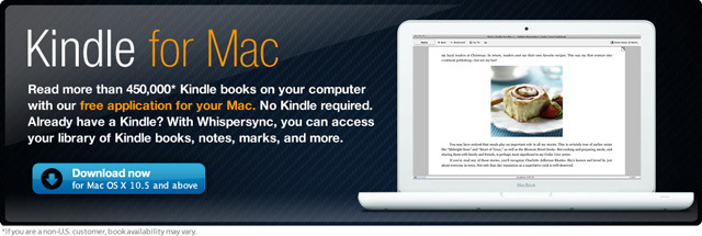 「Kindle for Mac」