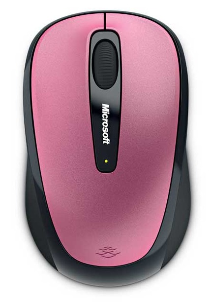 Microsoft Wireless Mobile Mouse 3500 オリエンタルピンク