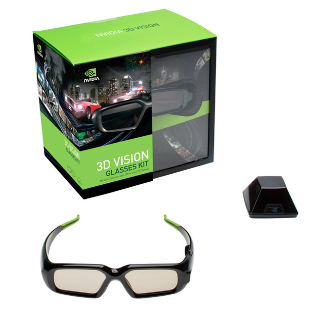 「NVIDIA 3D VISIONキット」