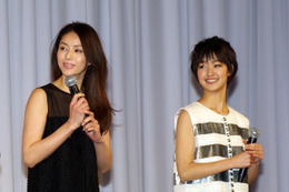 【au 2012年春モデル発表会】井川遥、伊勢谷友介、剛力彩芽、そして星飛雄馬がそろい踏み  画像