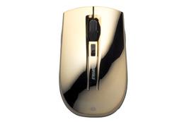 ガラス面や鏡面仕上げテーブル上で使える高感度のワイヤレスマウス