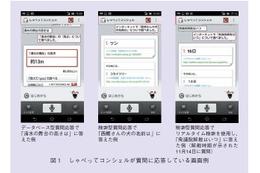 【テクニカルレポート】しゃべってコンシェルにおける質問応答技術……NTT技術ジャーナル