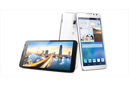 【CES 2014】Huawei、大画面6.1型「HUAWEI Ascend Mate2 4G」……大容量バッテリ搭載で他機へ充電も可能 画像