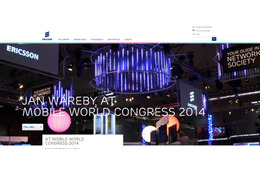 【MWC 2014 Vol.33】エリクソン、5GやLTE-Aなど通信の将来をデモ 画像