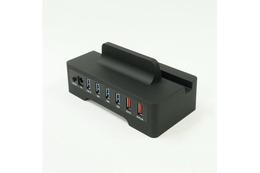 スマホとタブレットを同時に急速充電できるUSB3.0ハブ