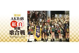 「AKB48紅白対抗歌合戦」ライブビューイング開催決定